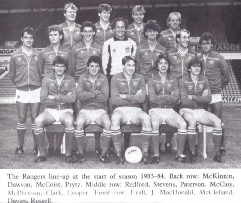 1983 84 gersnet rangers fc fansite for League table 1984 85