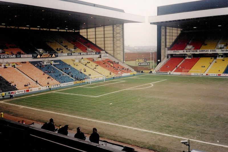 Ibrox Stadium Then And Now Gersnet Rangers Fc Fansite