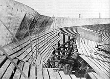 Ibrox Disaster 1902 - The Collapsed West Tribune Stand